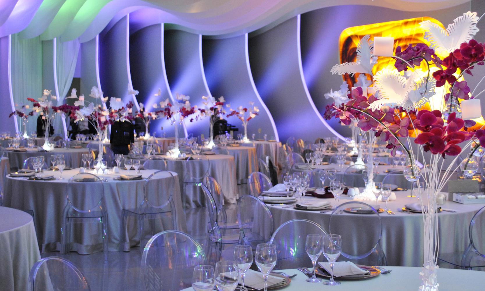 Baku Presidential Gala Dinner Installation